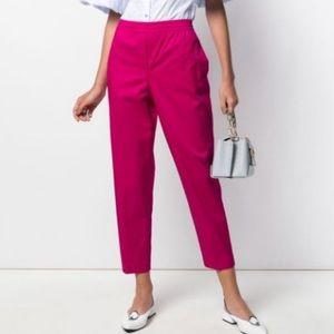 Theory Pop Fuschia Easy Trouser Classic Chino Pant